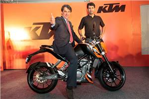 KTM 200 Duke launched at Rs 1.17L