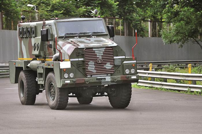 Tata Mine Protected Vehicle review, test drive