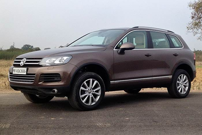 New VW Touareg review, test drive