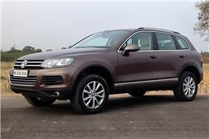 New VW Touareg review, test drive