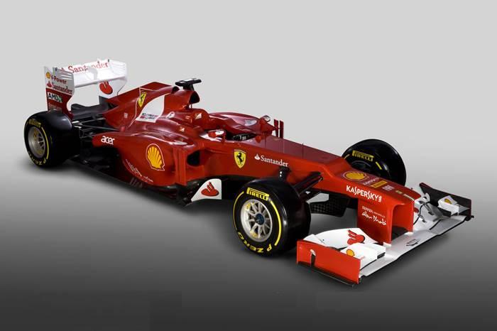 Ferrari launches its 2012 F1 car