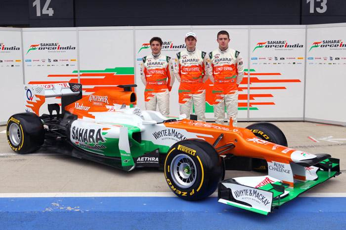 Sahara Force India unveils VJM05