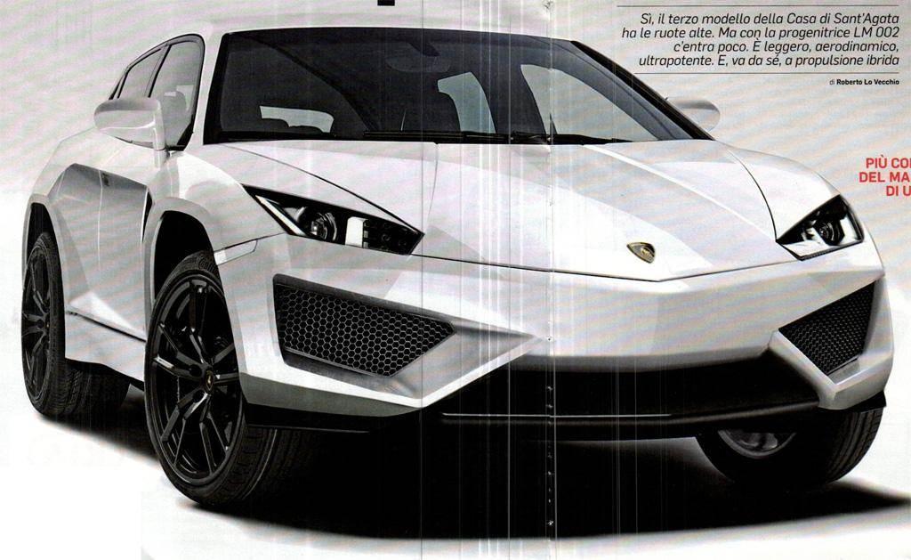 Audi confirms Lamborghini SUV