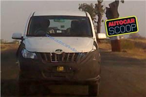 Mahindra Xylo facelift spied