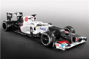 Sauber unveils its 2012 F1 car
