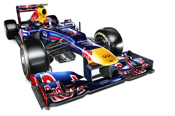 Red Bull F1 reveals 2012 RB8
