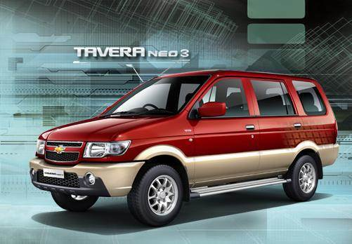 Chevrolet launches updated Tavera