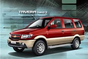 Chevrolet launches updated Tavera