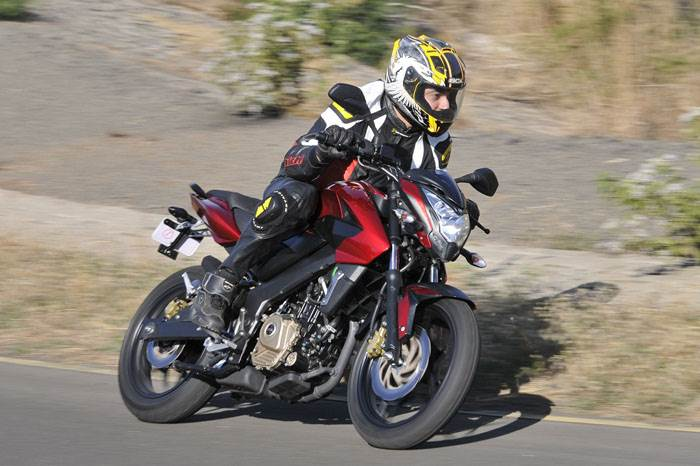 2012 Pulsar 200NS review, test ride
