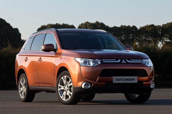 New Mitsubishi Outlander unveiled
