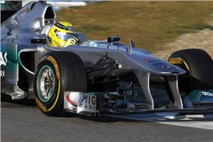 Rosberg quickest on day 3 at Jerez