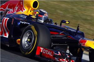 Vettel quickest on day one at Barcelona