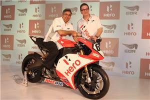 Hero MotoCorp- EBR join hands