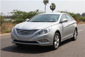 New Sonata review, test drive