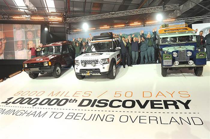 One millionth Land Rover Discovery