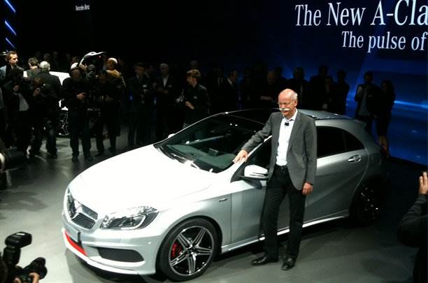 New Mercedes A-class revealed