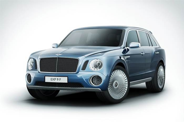 Bentley EXP 9 F SUV concept unveiled
