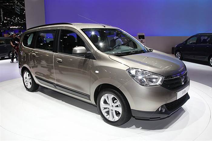 Dacia Lodgy MPV debuts at Geneva