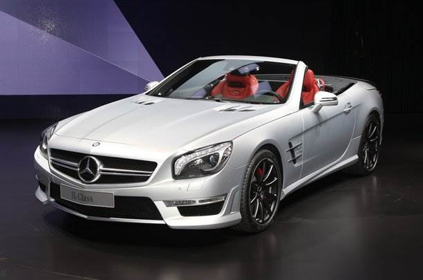 Mercedes showcases new SL63 AMG