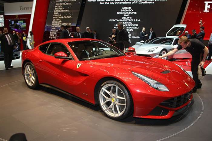 Ferrari F12 Berlinetta off to a strong start