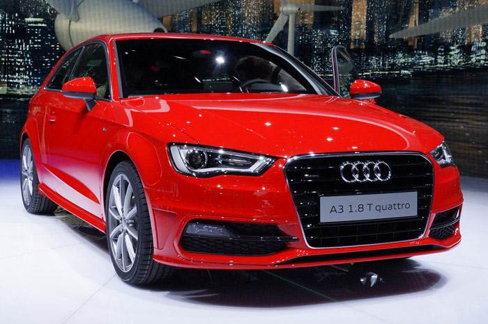 Audi A3 hatch unveiled at Geneva