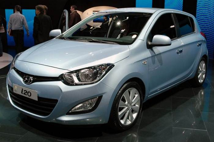 Hyundai i20 facelift revealed