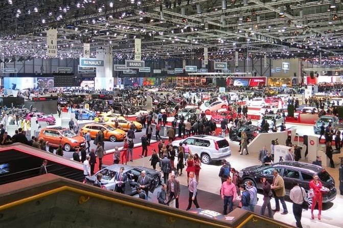 Geneva motor show stars