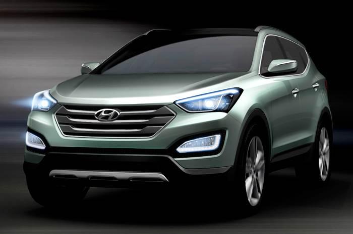Next-gen Hyundai Santa Fe pics