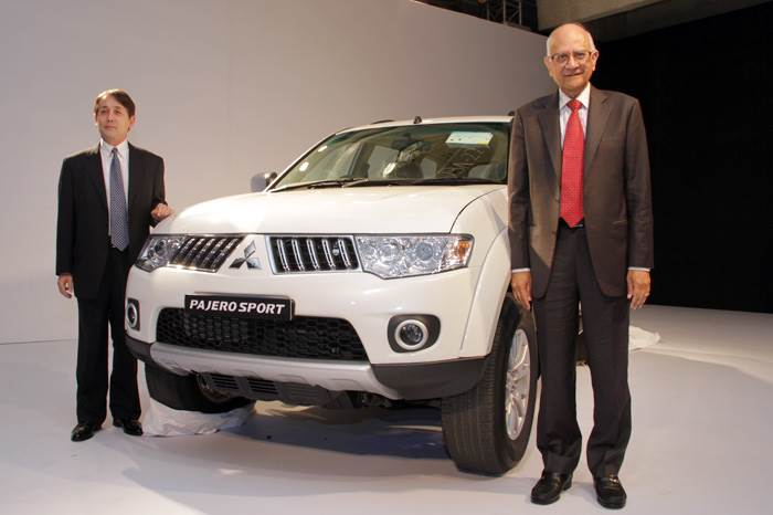 Mitsubishi launches Pajero Sport