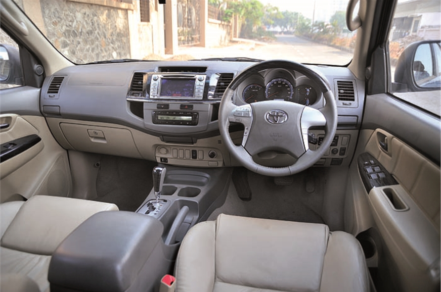 Interiors unchanged, save for touch-screen audio and Camr...