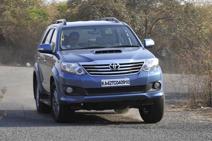 Toyota Fortuner review, test drive