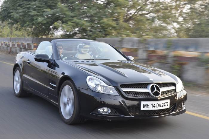 Mercedes SL350 review, test drive