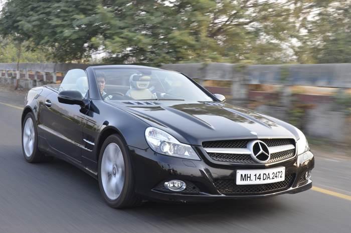 Mercedes SL350 review, test drive