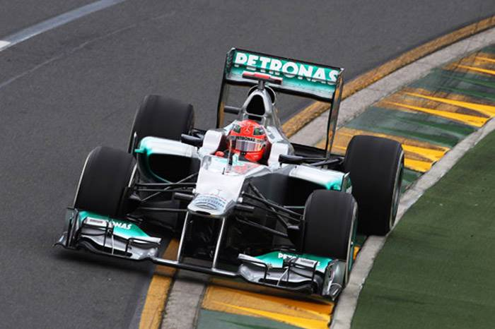 Button and Schumacher on top in Australia