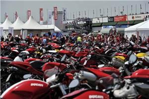 World Ducati Week 2012 is go