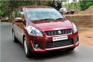 2012 Maruti Ertiga review, test drive
