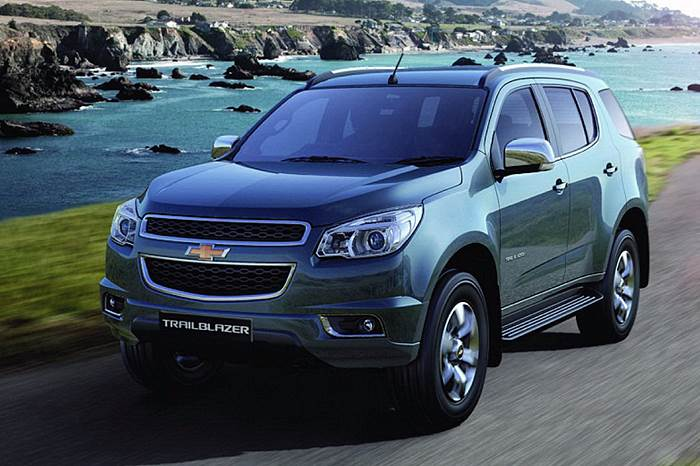 New Chevrolet Trailblazer revealed