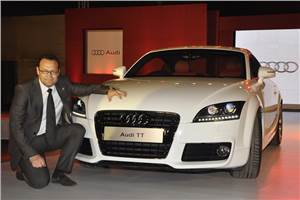 Audi TT launched at Rs 48.36 lakh