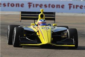Armaan finishes 8th on IndyLights debut