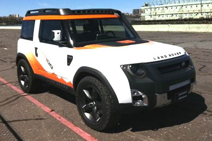 Land Rover DC100 Expedition concept revealed