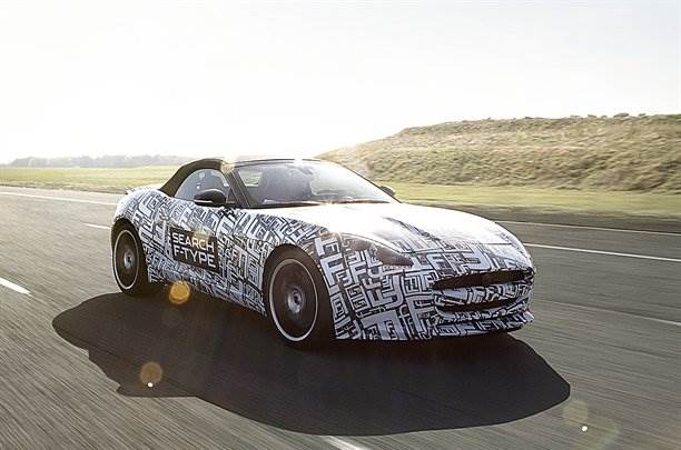 Jaguar's new sports car christened F-Type