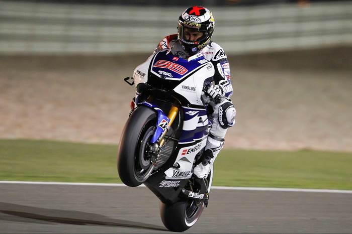 Lorenzo beats Hondas to Qatar win