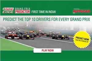 Grand Prix Predictor Game