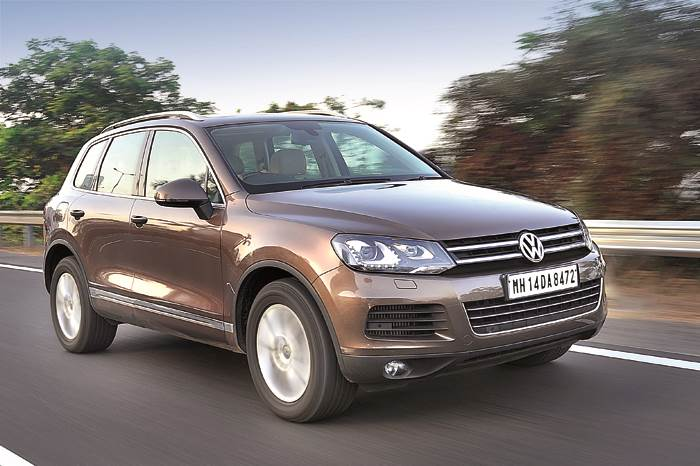 New Volkswagen Touareg review, test drive