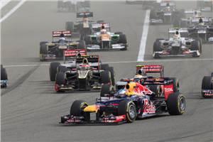 Vettel holds off Kimi for Bahrain victory