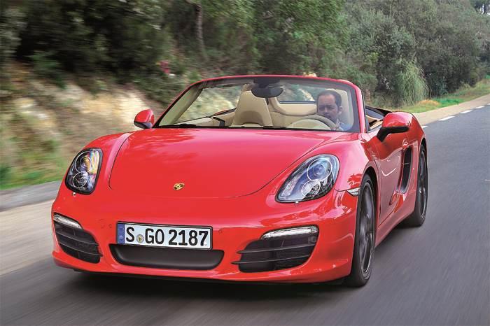 New Porsche Boxster S review, test drive