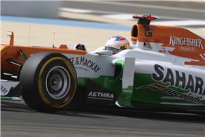 Force India hoping to test updates