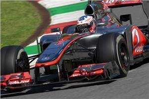 McLaren to switch to higher nose in Spain