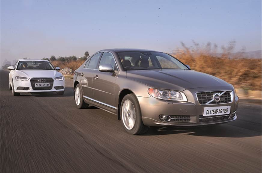 The Volvo S80 is no bad car but newer rivals like the Aud...