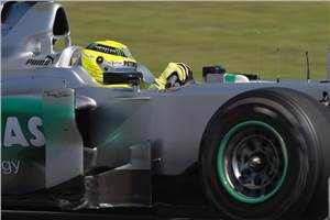 Tyre situation challenging: Rosberg